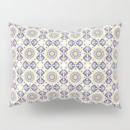 Azulejo Portugues 8 Pillow Sham