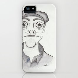 Innsmouth Towns person iPhone Case