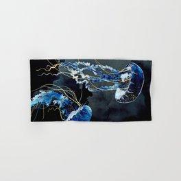Metallic Ocean III Hand & Bath Towel