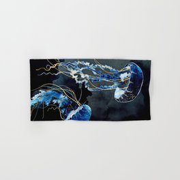 Metallic Ocean III Hand & Bath Towel