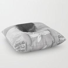 Facing Immensity Floor Pillow