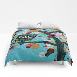 :: Gemmy Owl Loves Jewel Trees :: Comforters
