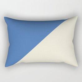 Blue Right Angle Rectangular Pillow