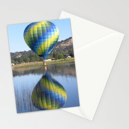 Balloon Reflection by Kimmer  Stationery Cards