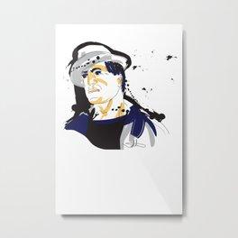 Rocky Balboa_INK Metal Print
