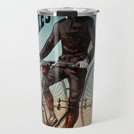 Old Sign - Bicycles Travel Mug