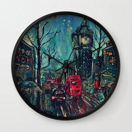 Impressionistic London  Wall Clock