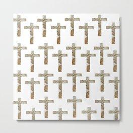 At The Cross Series Metal Print