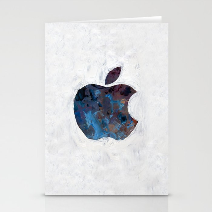 Painted Apple Stationery Cards