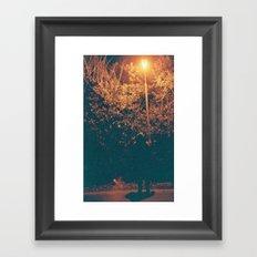 Hidden Man Framed Art Print