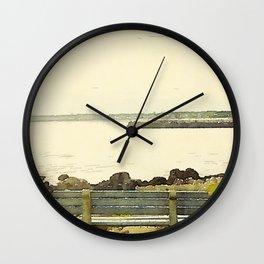 Kennebunkport Coast Wall Clock