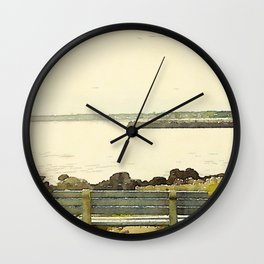 Kennebunkport Coast Wall Clock