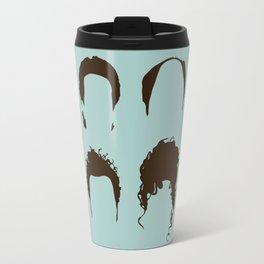 Seinfeld Hair Square Travel Mug