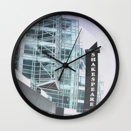Chicago Shakespeare Theater  Wall Clock