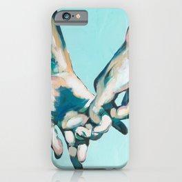Simple Gesture of Love is Love iPhone Case