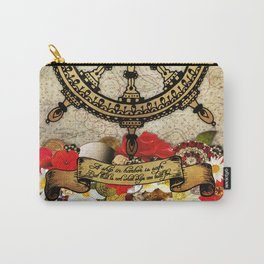 A Ship In Harbor Carry-All Pouch