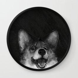 Sausage Fox Wall Clock