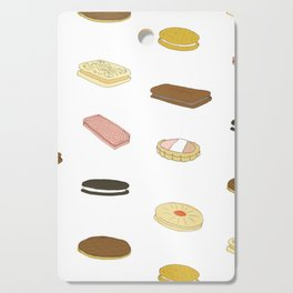 biscui - biscuit pattern Cutting Board