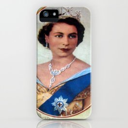 Queen Elizabeth 11 & Prince Philip in 1952 iPhone Case