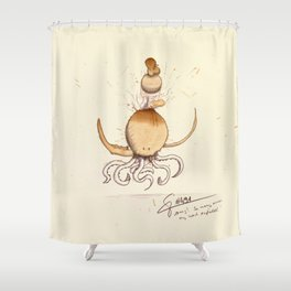 #coffeemonsters 491 Shower Curtain
