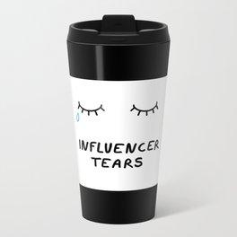 Influencer Tears Metal Travel Mug