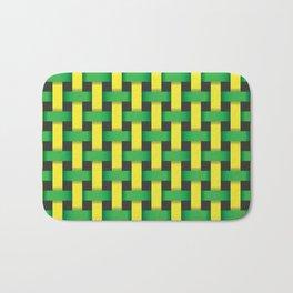 geometric seamless pattern Bath Mat