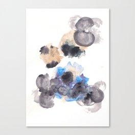 170714 Abstract Watercolour Play 10 |Modern Watercolor Art | Abstract Watercolors Canvas Print
