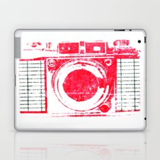 Red Camera Laptop & iPad Skin