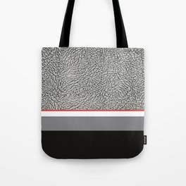 BLACK CEMENT Tote Bag