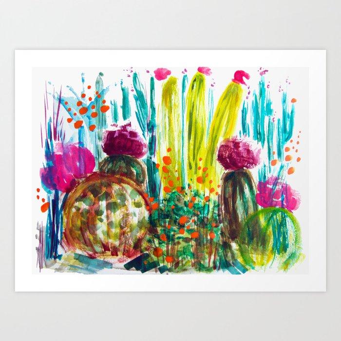 Cabana Plants Art Print