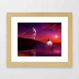 Spherical Thinking Framed Art Print