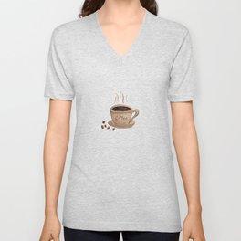 Coffee Please Unisex V-Neck