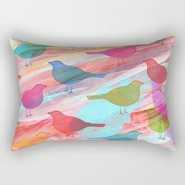 Birds tho Rectangular Pillow
