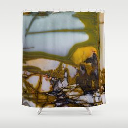 Hart Mountain Jasper Shower Curtain