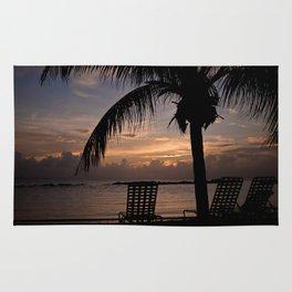 Beach Sunset Rug