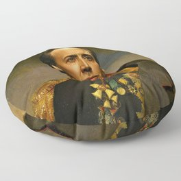 Nicolas Cage - replaceface Floor Pillow