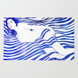 Water Nymph XIV Rug