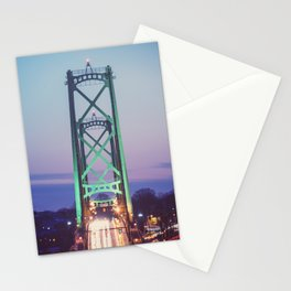 Symmetry of the Span Stationery Cards