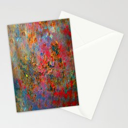Rust Texture 43 Stationery Cards