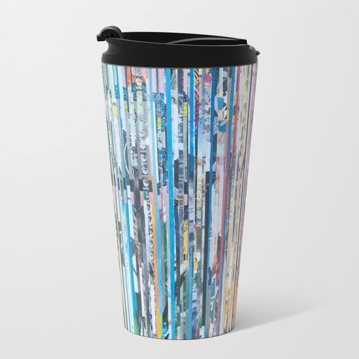 STRIPES 28 Metal Travel Mug