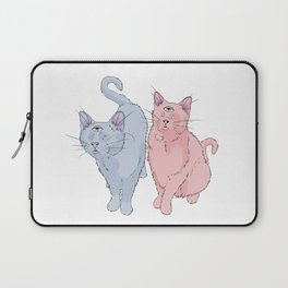 blind cats Laptop Sleeve