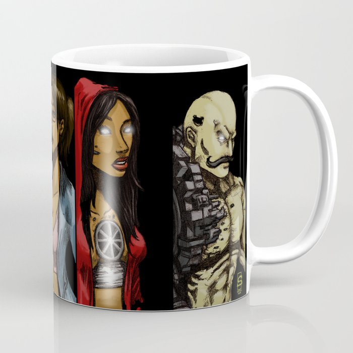 HYBRID EARTH Characters Coffee Mug
