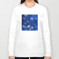 jellyfish Long Sleeve T-shirts featuring jellyfish by shennyche