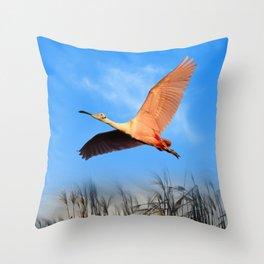 Morning Flight 1 Throw Pillow