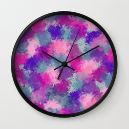 Bouquet Abstract Wall Clock