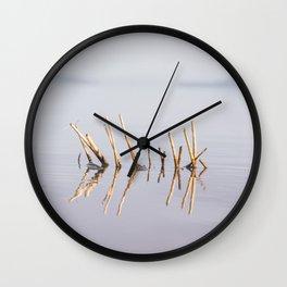 Sunny Twigs Wall Clock