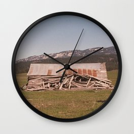 The Concluding Chapter Wall Clock
