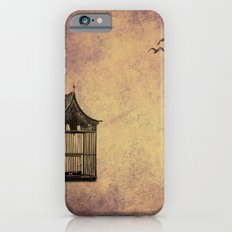 birds and freedom concept iPhone 6s Slim Case