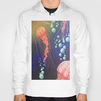 jelly fish Hoodies featuring Jelly Fish by Little Mama