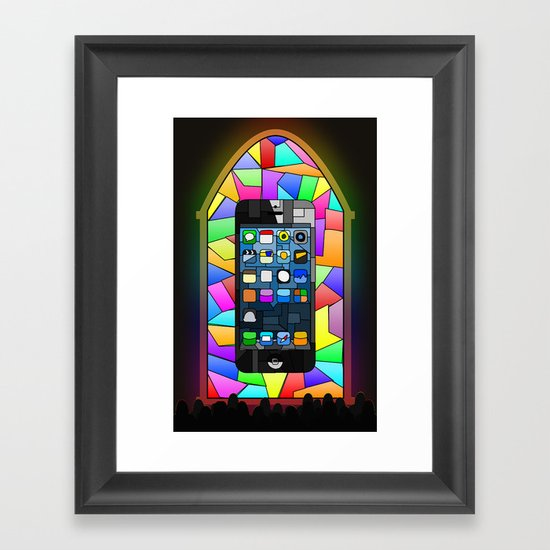 iChurch Framed Art Print